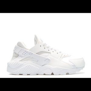 Triple White Nike Huarache